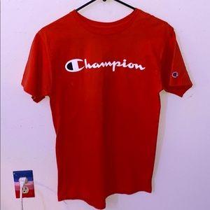 2 Champion shirts size (S) men's